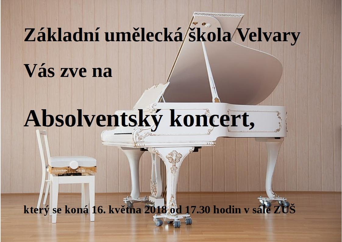 Absolventský koncert 2018
