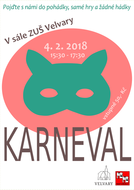 plakát karneval 18